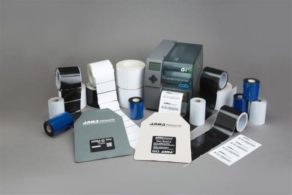 Thermal transfer printable label stocks