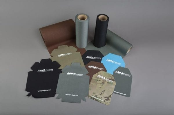 Spall covers for military or law enforcement body armor