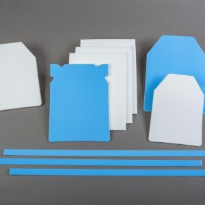 Foam protection for body armor plates